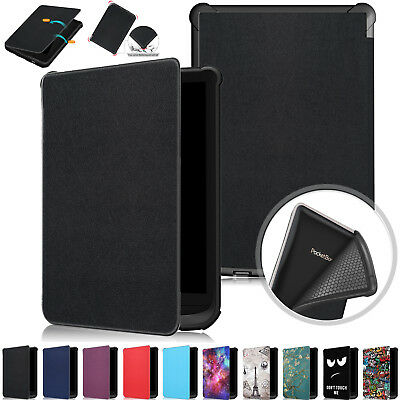 Smart Leather Cover Flip Case For Pocketbook Touch Lux 4/Basic Lux 2/627/616/632