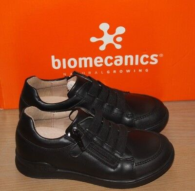 Biomecanics Boy Sneaker Style School Shoes with Bumper Toe Protection 171125