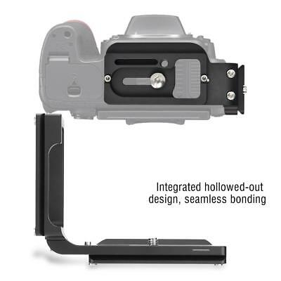 Universal Quick Release L Plate Vertical Bracket For Nikon D750 Arca Standard HD