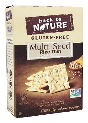 Back To Nature - Gluten-Free Rice Thin Crackers Multi-Seed - 4 oz.