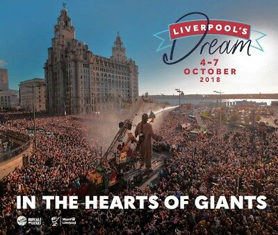 Liverpool's Dream Official 'in The Hearts Of Giants' Souvenir Book
