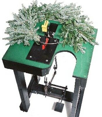 LAST REDUCTION! - WREATHMASTER Christmas Wreathmaking Machine No Hammer Clamp