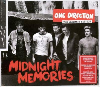 One Direction – Midnight Memories Deluxe Hardback Book  (New/sealed)