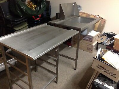 Commercial Catering Kitchen Stainless Steel Sink Righthand Drainer