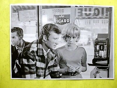 1969  Sylvie Vartan  / Johnny Hallyday > Grande Photo Plastifièe  21 / 30