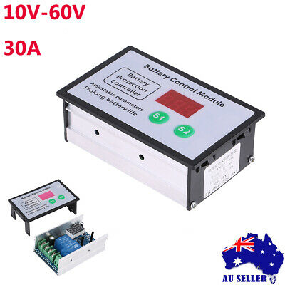 Battery Low Voltage Cut off Switch On Protection Undervoltage Controller AU 1PC