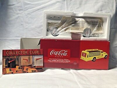 Mib 2002 First Year Coca-Cola First Le 1:34 Diecast 1951 Ford Bottler's Truck
