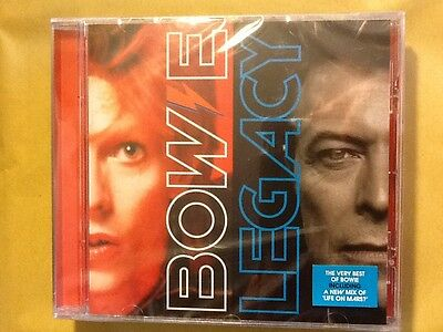 David.bowie.     Legacy.        Very. Best. Of.  David. Bowie.     Compact Disc