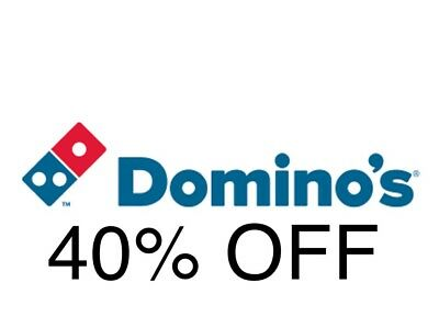 40% Off Dominos Pizza Discount Code