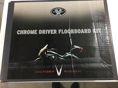 Victory Vision Driver Floorboard Kit New In Box. Oem #2875747