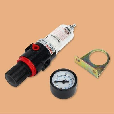 "AFR-2000 1/4"" Air Compressor Filter Lubricators Water Oil Separator Trap Kit"