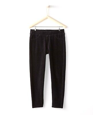 NWT - HANNA ANDERSSON 'RIBBED VELOUR' Kids PANTS - Size 130