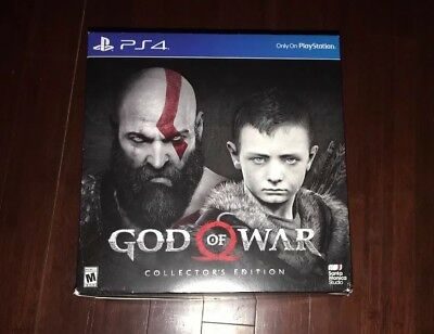 GOD OF WAR COLLECTOR'S EDITION 2018 Sony PlayStation 4 PS4 2018 BRAND NEW SEALED