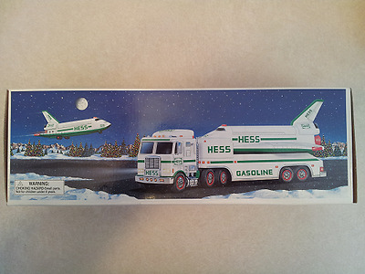 Hess* 1999* Toy* Truck* And* Space Shuttle* Mib* Never* Removed* From* Box*