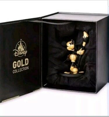SOLD OUT!!! Mickey Mouse Ornament Gold Collection 90th Anniversary 2018 LE 2600
