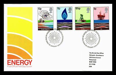 Dr Jim Stamps Energy Combination Fdc United Kingdom European Size Cover 1978