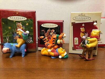 Hallmark Ornaments - Winnie the Pooh, Heaven & Nature Sing and more ornaments