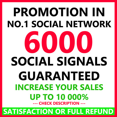 Promotion in NO.1 Social Network Signals Pr9 Seo Backlinks High Rank in Google