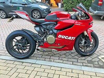 Ducati  Panigale  1199 ABS 2013 (63) 10,160 miles