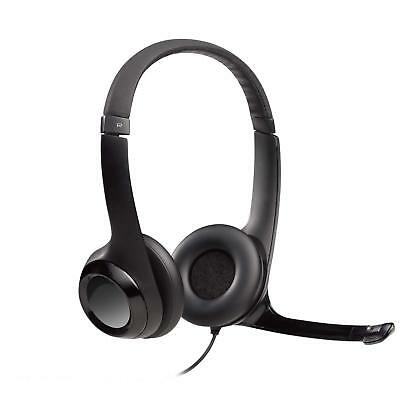 NEW IN BOW! Logitech USB Headset H390 with Noise Cancelling Mic FREE SHIPPING!