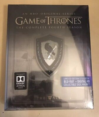 Game Of Thrones 4th Season Limited Edition Steelbook