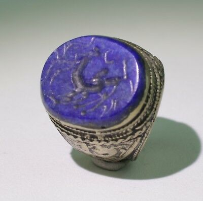 Large Post Medieval Silver Ring - No Reserve 1231