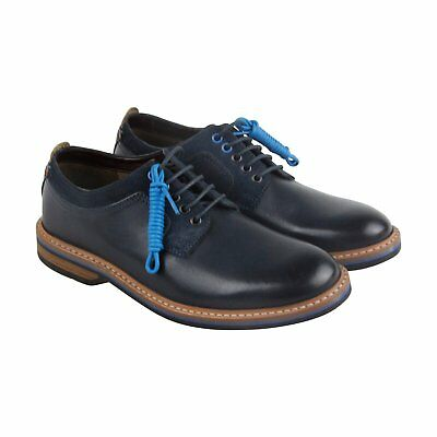 770c99755864 CLARKS PITNEY LIMIT Rrp£90 Navy Blue Leather Brogues Lace Up Shoes ...