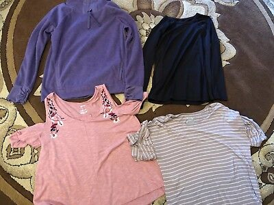 Lot Of 4 Womens Shirts Old Navy, Sonoma Large