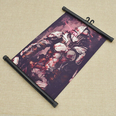 1pc Goblin Slayer Anime Scroll Painting Poster Home Wall Art Hanging