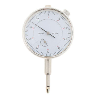 Dial Test Indicator Gauge Lug Back Metric 0-5mm 0.01mm, Easy to Use