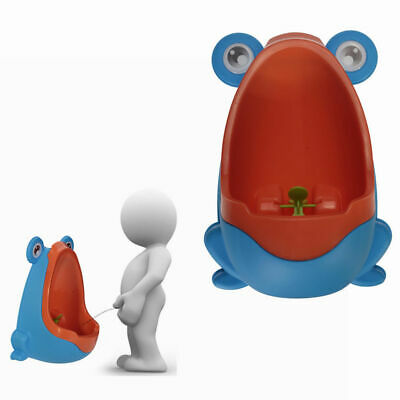 Frog Kids Potty Toilet Training Children Urinal For Boys Pee Trainer Bathroom TP