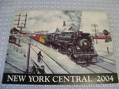 New York Central System Calendar - 2004 - Great Photos - Free Shipping