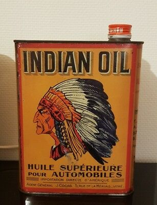 Bidon d'huile Indian oil