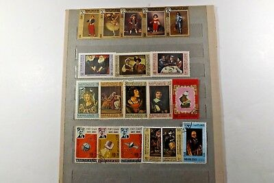 25 South Arabia Stamps