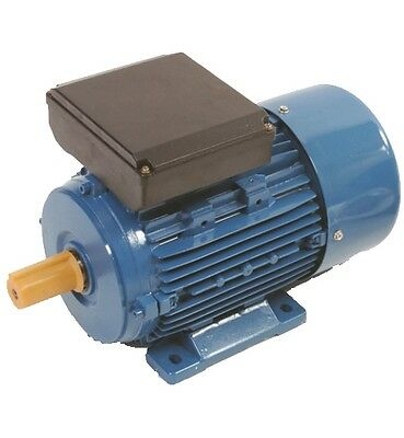 Single Phase 0.75kw (1HP) 1400 rpm Foot Mounted Electric Motor