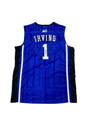 8c5976e05336 ... discount kyrie irving signed duke blue devils away blue jersey jsa  e6f50 ca0da