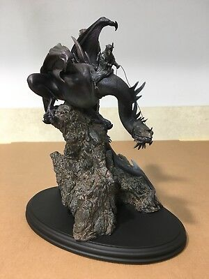 Sideshow Weta FELL BEAST MORGUL LORD  WITCH KING Statue Lord of the Rings LOTR