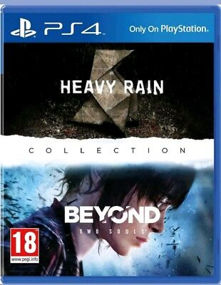 The Heavy Rain & Beyond two Souls Collection PS4 (Sony PlayStation 4) NEUWARE