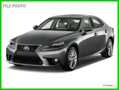 2016 Lexus IS 4DR SDN IS TURBO 2016 4DR SDN IS TURBO Used Certified Turbo 2L I4 16V Automatic RWD Sedan Premium