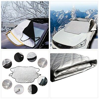 FREESOO Car Windscreen Snow Cover Windshield Frost Covers Anti Foil Ice Dust