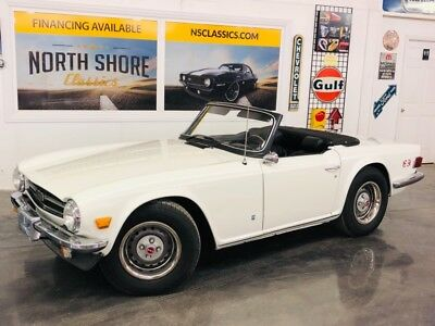 1975 TR-6 -RESTORED CLASSIC CONVERTIBLE-DOCUMENTED-BRITISH S 1975 Triumph TR6 for sale!