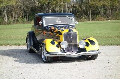 1934 Hot Rod / Street Rod -STEAL BODY-SLICK STREET HOT ROD-VINTAGE AIR- SEE 1934 Plymouth Hot Rod / Street Rod, Black with 0 Miles available now!