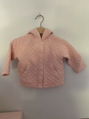 Country Road Baby Girl Pink Coat 0-3