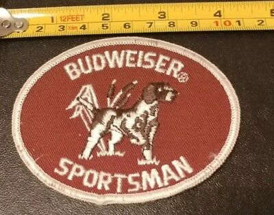Embroidered Beer Patch - Budweiser Sportsman Vintage Hunting