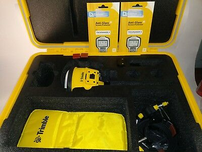 Trimble SPS986 & Trimble GSC3 Site Positioning System W/Case and Tons of Extras!