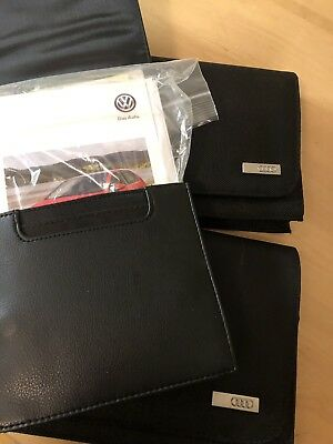 One day flash sale !! Wholesale Lot Of 2 Audi, 1 VW  Owners Manuals