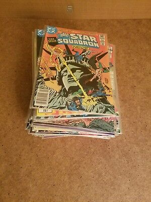 47 D C Comic Lot The All Star Squadron