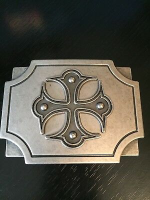Cross Belt Buckle Interesting Shape Three Tiered China