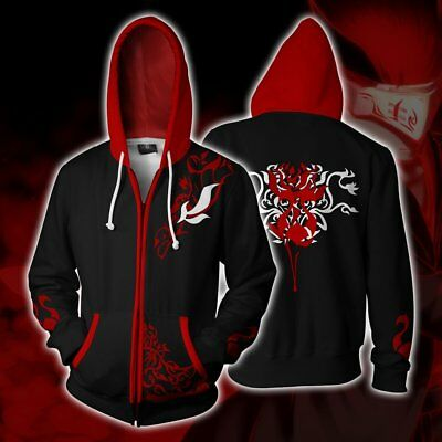 Anime RWBY Season 1 hoodie Sweatshirt Cosplay Costume zip up coat jacket NN.1012
