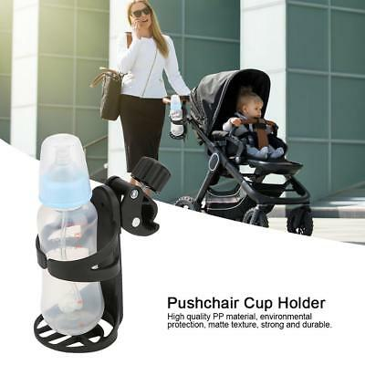 360 Degrees Universal Bottle Cup Holder Storage Rack for Baby Stroller Pushchair